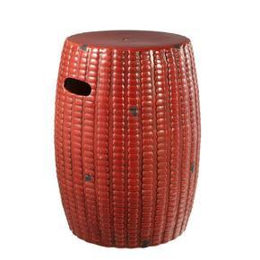 Red-Side-Table- -Eichholtz-Drum_Eichholtz-By-Oroa_Treniq_0