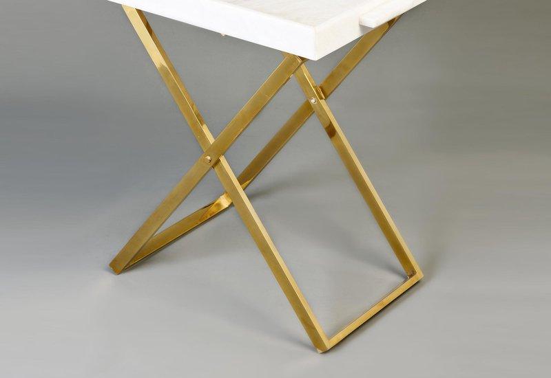 Folding tray side table aurum treniq 4