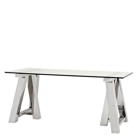 Glass home desk   eichholtz marathon eichholtz by oroa treniq 1 1506672516745