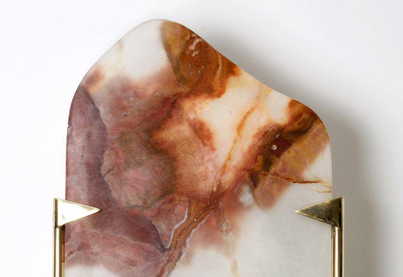 Onyx wall lamp aurum treniq 2