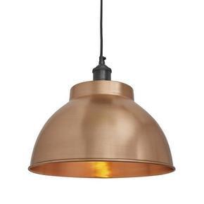 Brooklyn Dome Pendant Light 13 inch