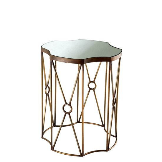 Glass side table (set of 2)   eichholtz sun eichholtz by oroa treniq 1 1506842632721
