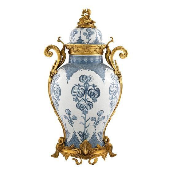 Blue and white vase   eichholtz armand eichholtz by oroa treniq 1 1506920147999