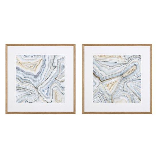 Eichholtz agate abstract prints (set of 2) eichholtz by oroa treniq 1 1506920722924