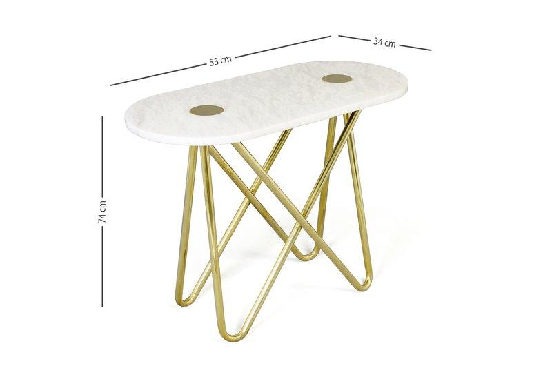 Eskimo console table aurum treniq 5