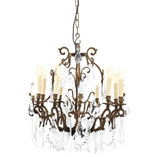 Classic brass chandelier   eichholtz chateau de biron eichholtz by oroa treniq 1 1506921441988