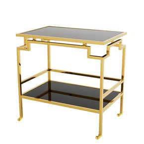 Gold Bar Cart Eichholtz Tuxedo Tail Table By Oroa