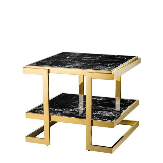 Eichholtz Side Table.Gold Side Table Eichholtz Senato
