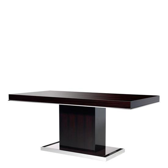 Ebony dining table   eichholtz park avenue eichholtz by oroa treniq 1 1506989369780