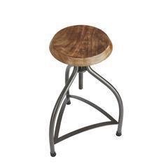 Cooper vintage solid wood   metal adjustable bar stool   34 inch industville treniq 1 1507124882619