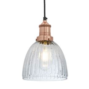 Brooklyn-Vintage-Antique-Ribbed-Glass-Retro-Cone-Pendant-7-Inch_Industville_Treniq_0