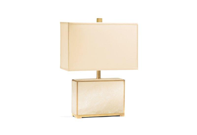 Alabaster table lamp decorative crafts treniq 1