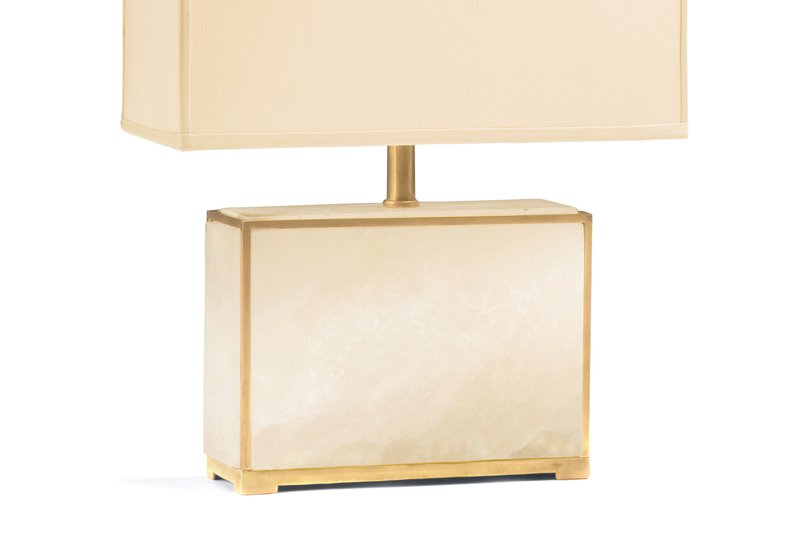 Alabaster table lamp decorative crafts treniq 3
