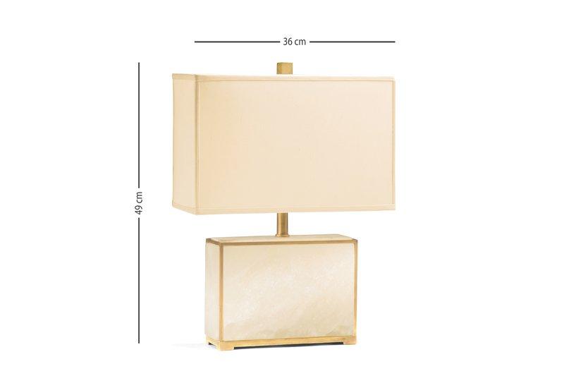 Alabaster table lamp decorative crafts treniq 5