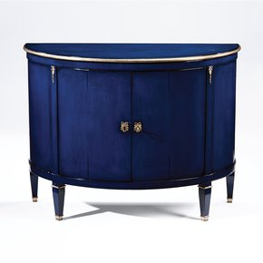 Blue Wood Cabinet - Decorative Crafts - Treniq
