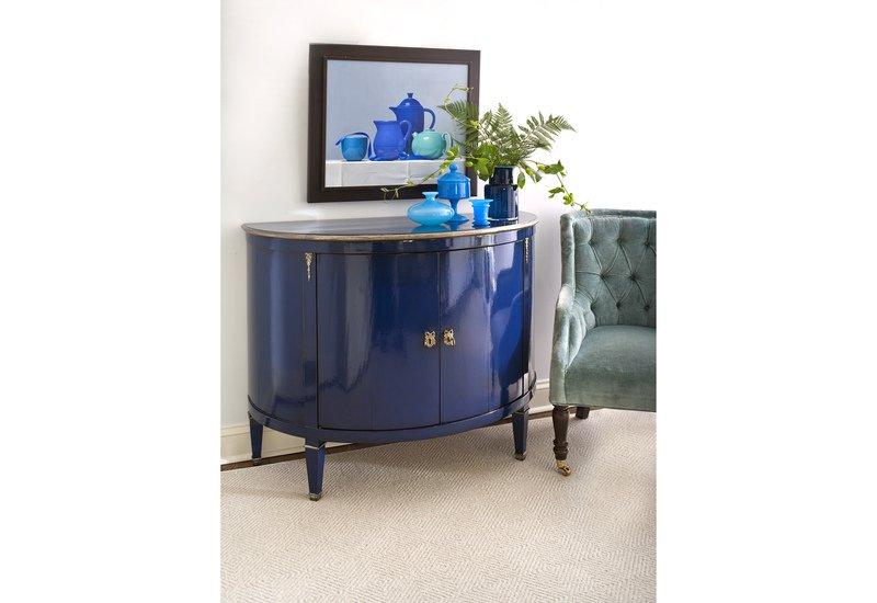 Blue wood cabinet decorative crafts treniq 6