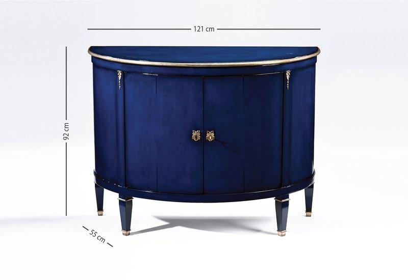 Blue wood cabinet decorative crafts treniq 7