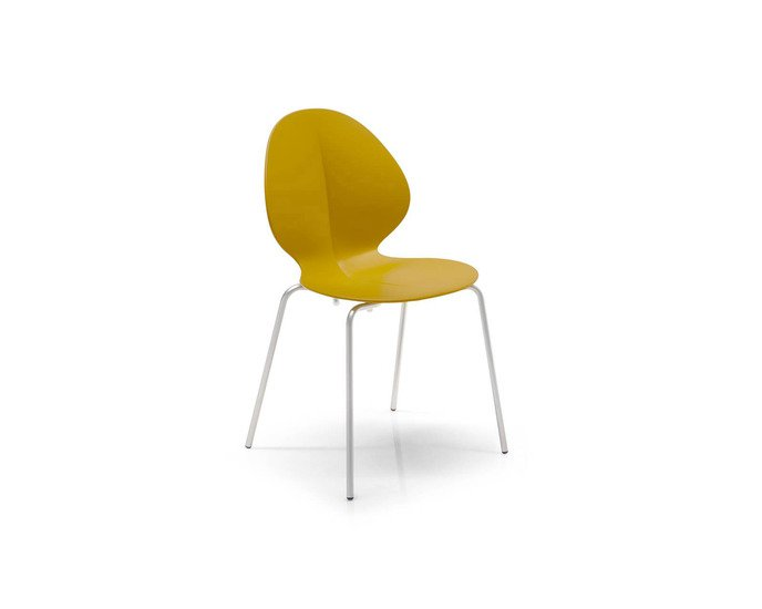 Basil stackable chair in mixed materials by calligaris fci london treniq 1 1507711839601