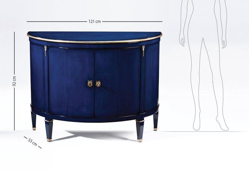 Blue wood cabinet decorative crafts treniq 8