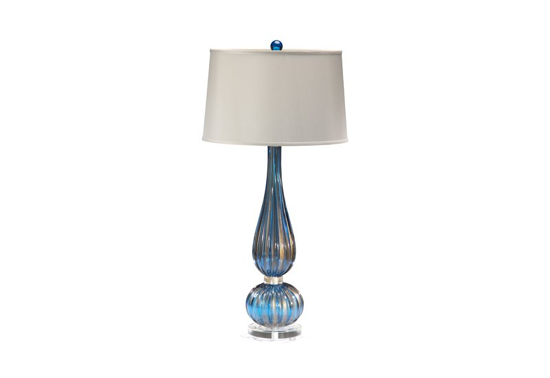 Classic venetian glass table lamp decorative crafts treniq 1