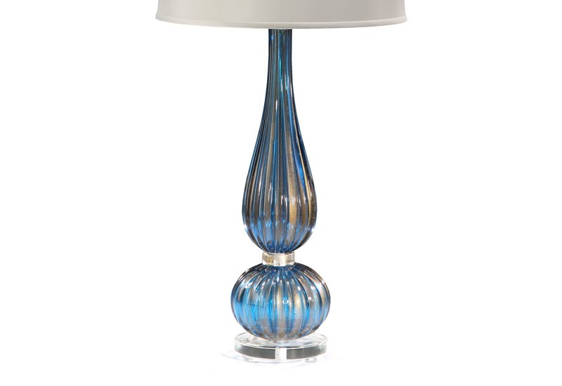 Classic venetian glass table lamp decorative crafts treniq 3