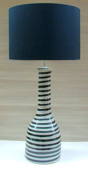 Soho blue handpainted ceramic lamp kinkatou treniq 1 1507913410686