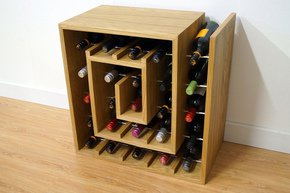Square-Spiral-25-Wine-Rack-|-Hand-Made-Oak-Bar-Storage_Liv-Cornall-Design_Treniq_0