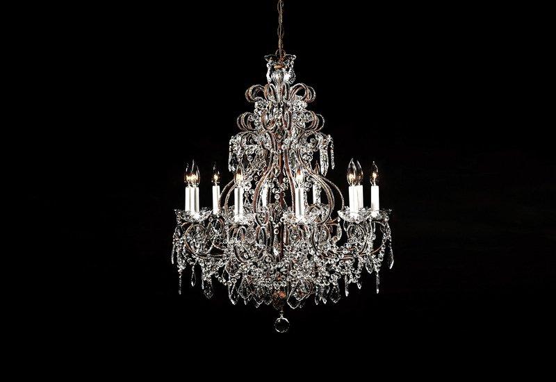 Crystal chandelier decorative crafts treniq 1