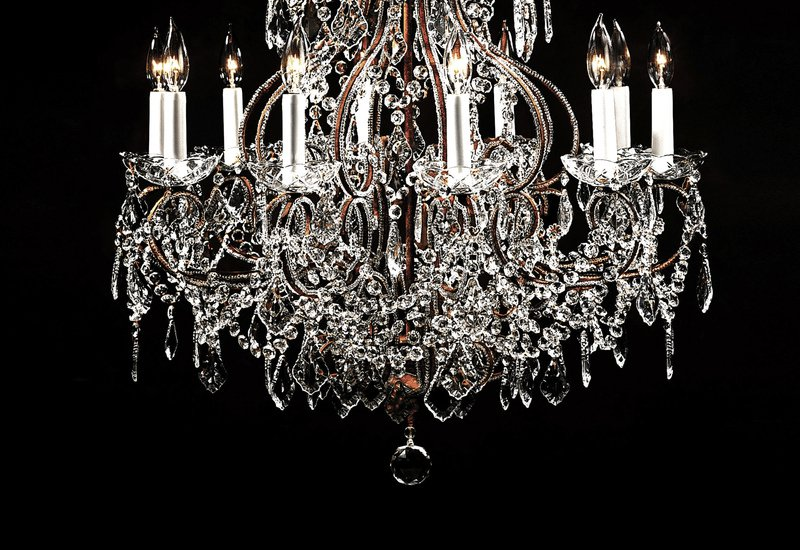 Crystal chandelier decorative crafts treniq 3
