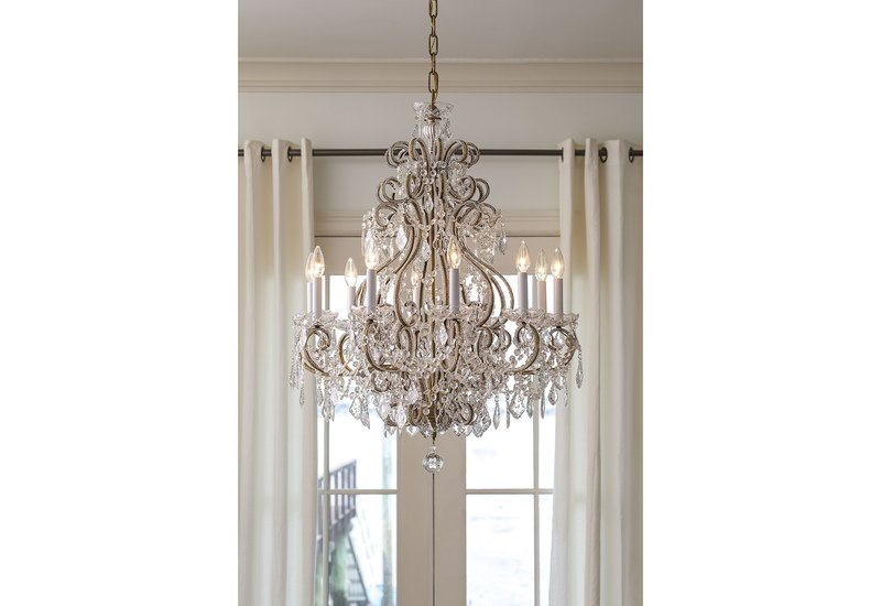 Crystal chandelier decorative crafts treniq 4
