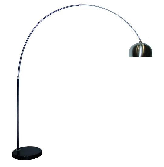 Arc flor lamp with metal shade 3100