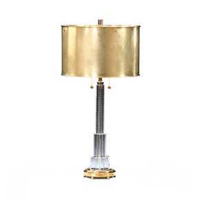 Crystal Table Lamp Brass - Decorative Crafts - Treniq