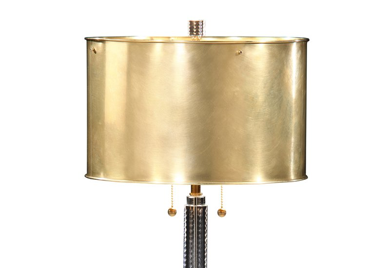 Crystal table lamp brass decorative crafts treniq 2