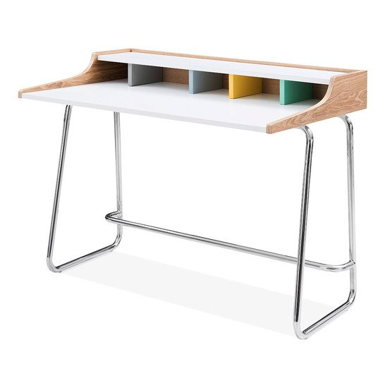 Cult Design Phoenix Home Office Desk Ash Wood And Steel Pastel Furniture Treniq 1 1508151660341