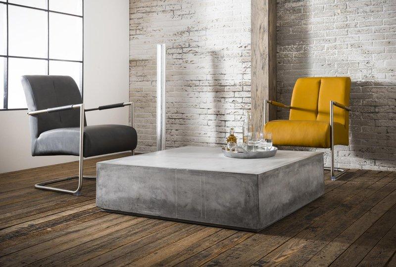 Large Polished Concrete Block Coffee Table Elderflower Lane Treniq 1  1508235278823