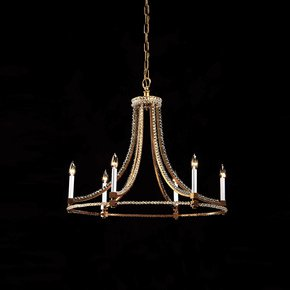Slender Chandelier - Decorative Crafts - Treniq