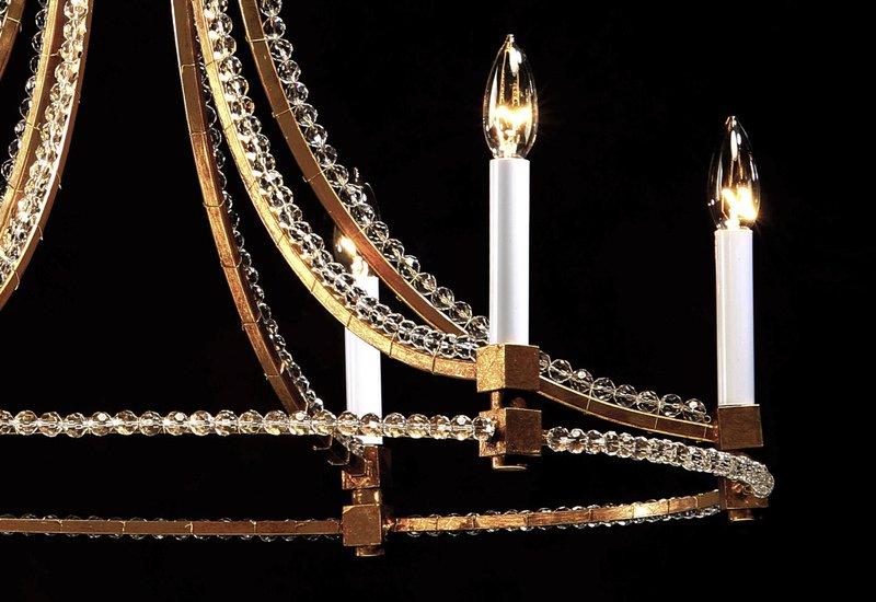 Slender chandelier decorative crafts treniq 4