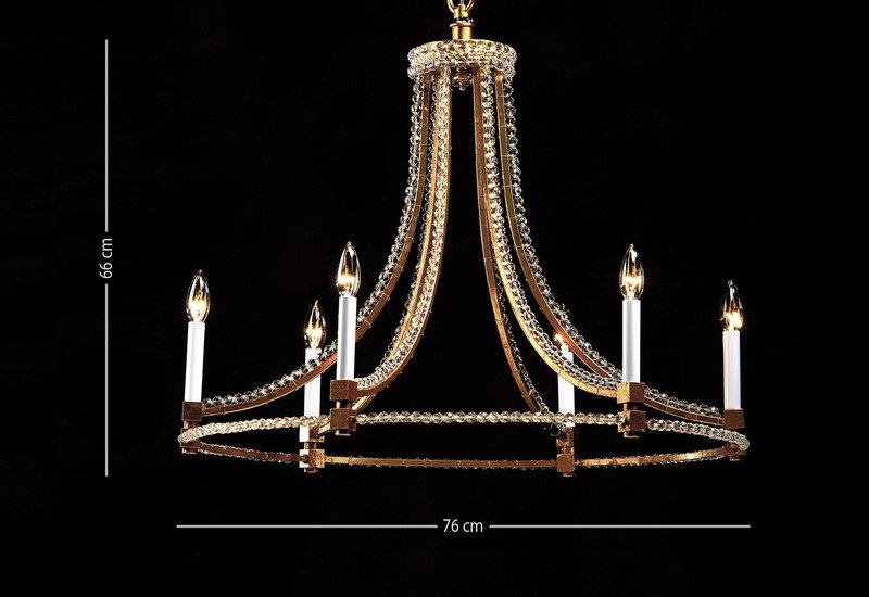 Slender chandelier decorative crafts treniq 6