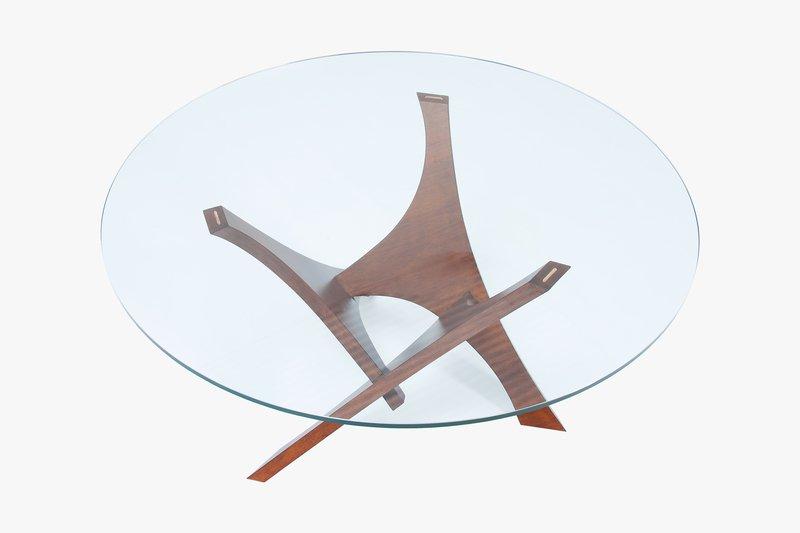 Vela dining table base by lattoog kelly christian designs ltd treniq 1 1508757960075