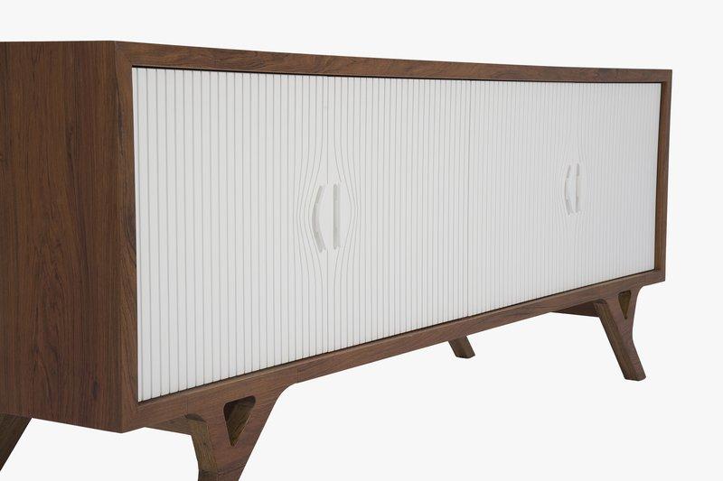 La Credenza Ltd : High gloss black credenza somercotes office furniture ltd