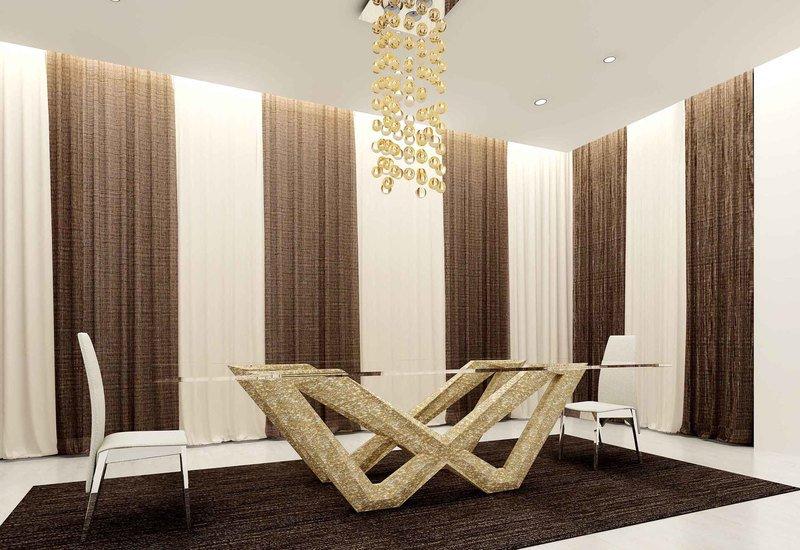Anvi lush dining table  crescent dining table anvi lifestyle treniq 1 1509084964647