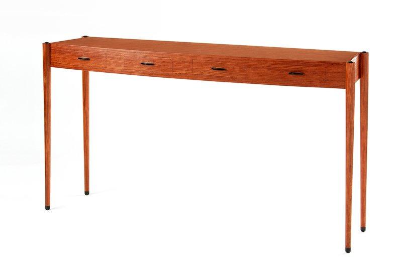 Bubinga console table philip dobbins 2