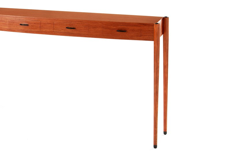 Bubinga console table philip dobbins 4