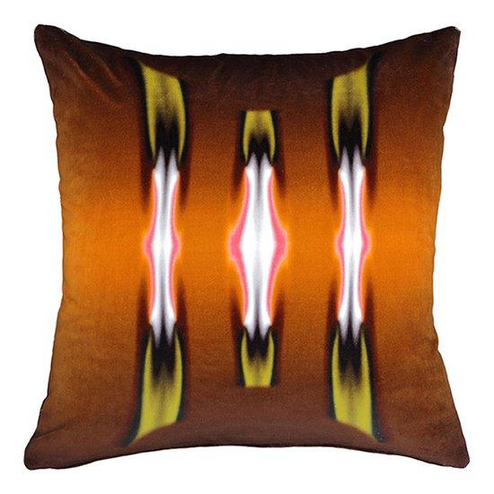 Orange breasted trogon velvet cushion anjali hood ltd. treniq 1 1509512094879