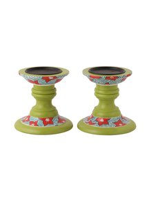 Hand-Painted-Green-Candle-Holders_Auraz-Design_Treniq_1