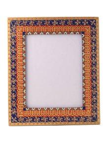 Hand-Painted-Classic-Mughal-Photoframe_Auraz-Design_Treniq_1