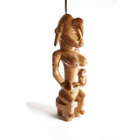 Senoufu maternity statue with ine baby avana africa treniq 1 1510233909963