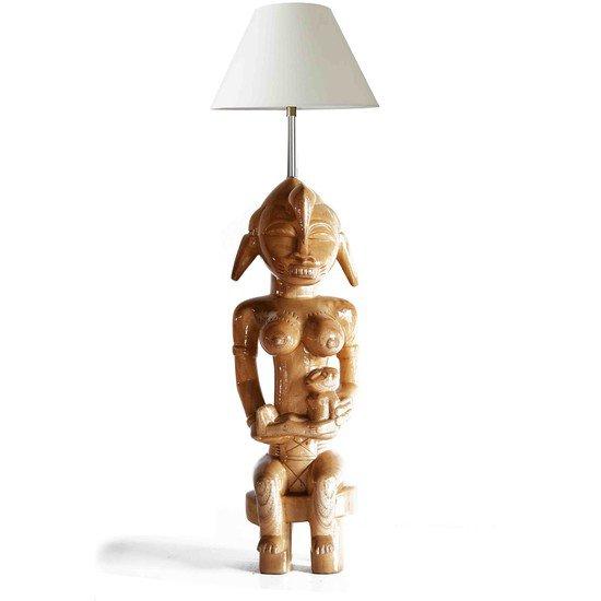 Senoufu maternity statue with ine baby avana africa treniq 1 1510233909960