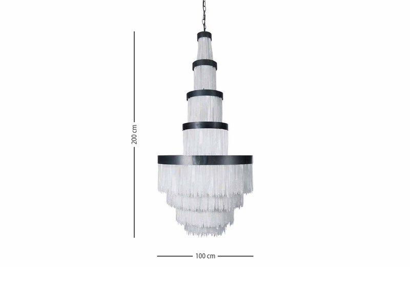 Selenite chandelier high large cravt original treniq 4