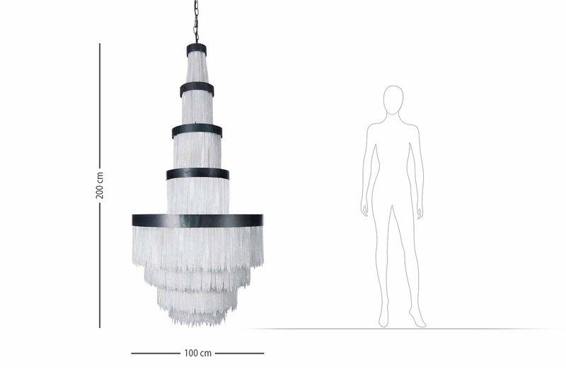 Selenite chandelier high large cravt original treniq 5